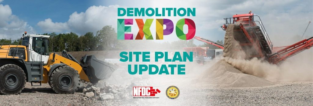 Further Demo Expo Site Plan updates!
