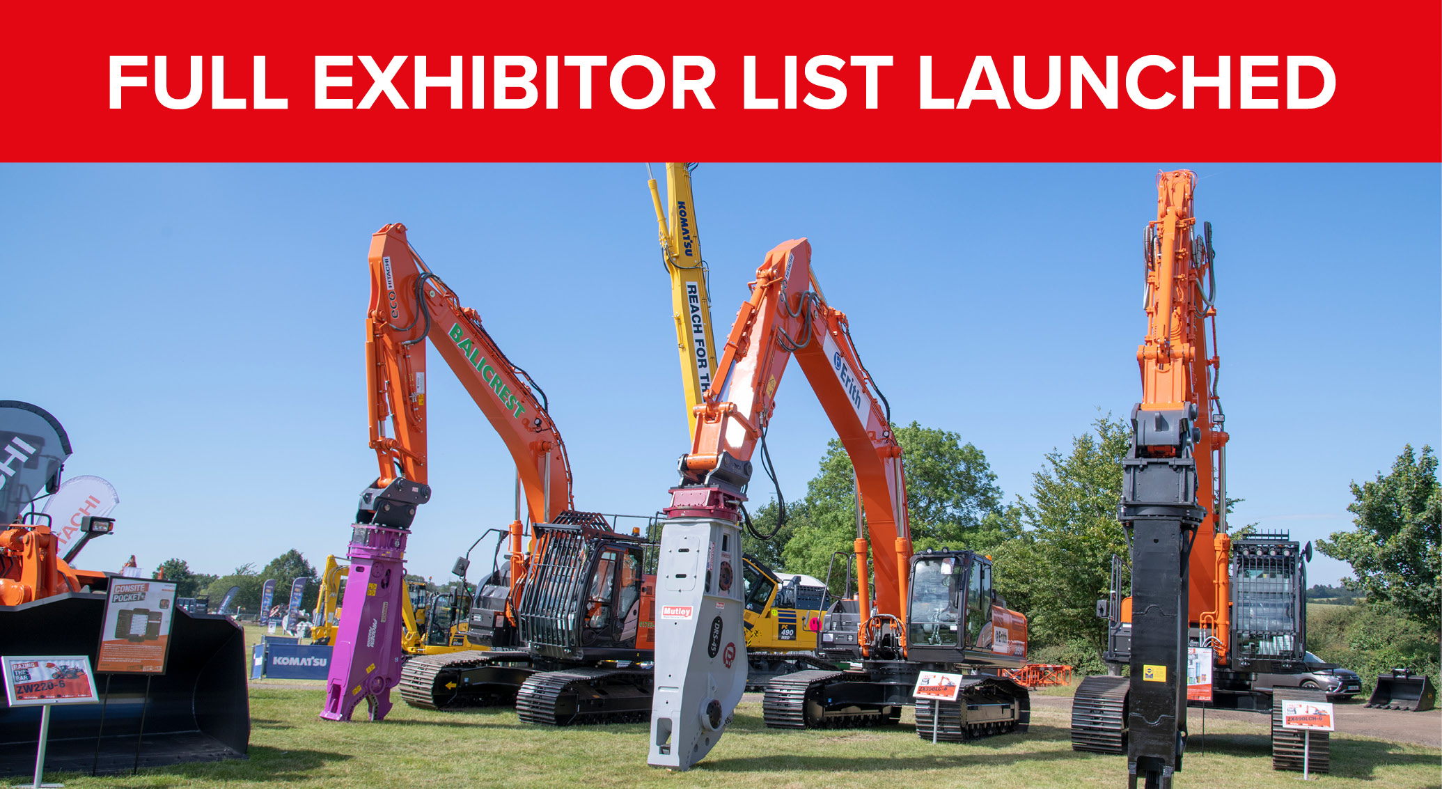 Exhibitor List Launched!